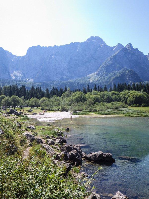 Il lago superiore di Fusine