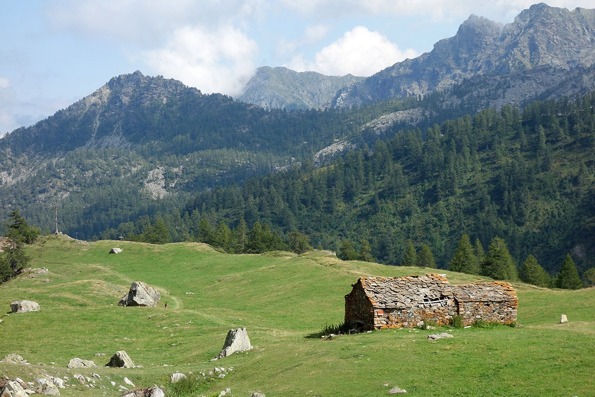 Il tranquillo vallone di Champorcher