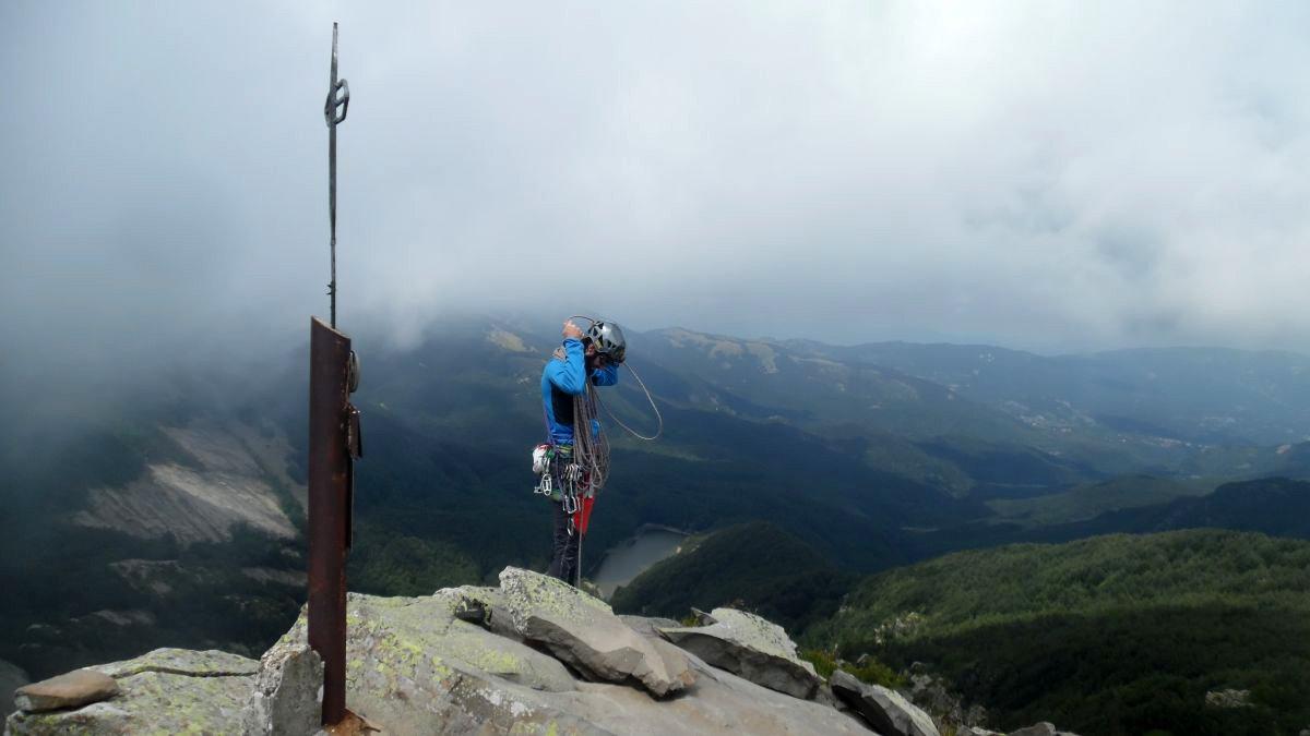 La cima con vista sui Lagoni