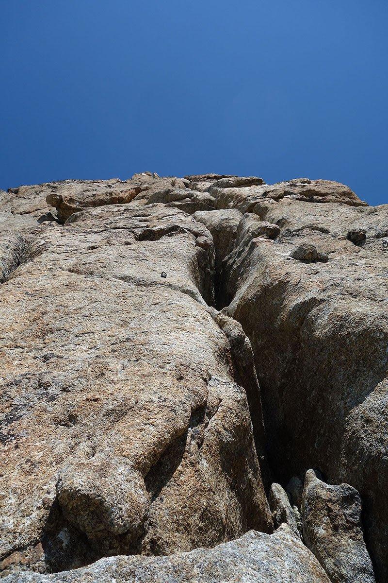 Prima parte della fessura Madier