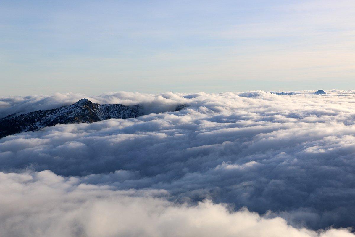 Nuvole e Nuda