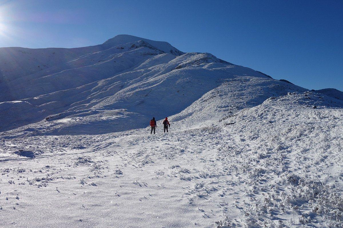 Verso la Cresta Nord del Cusna (15 dicembre 2018)