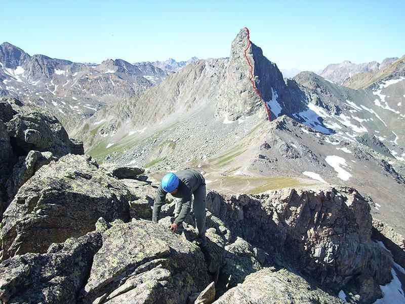 Rocca della Niera (foto Rabino, Cresta Nord Nord Est @Alpi Occidentali Vol 1)