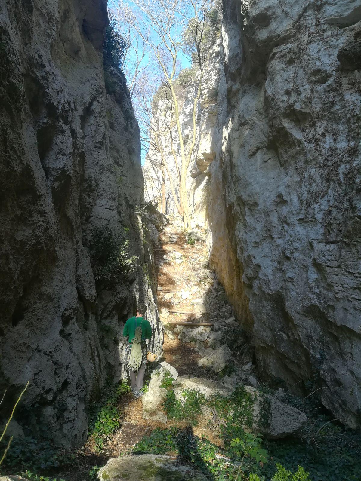 Il canyon del monte Cucco