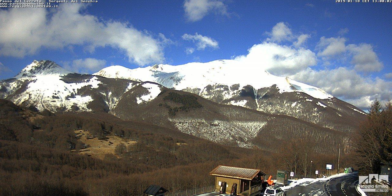 Sorgenti del Secchia (Alpe di Succiso-Casarola) dal Passo del Cerreto