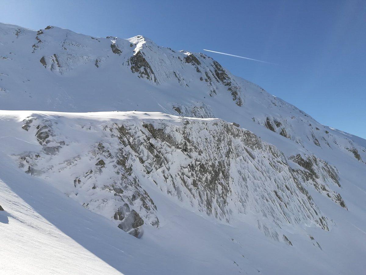 La NE dell'Alpe (gran condizioni 14/02 @Luca Castellani)