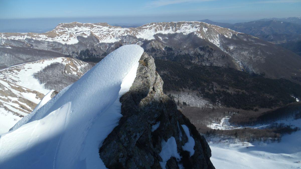 Monte Prado - Canale a zeta